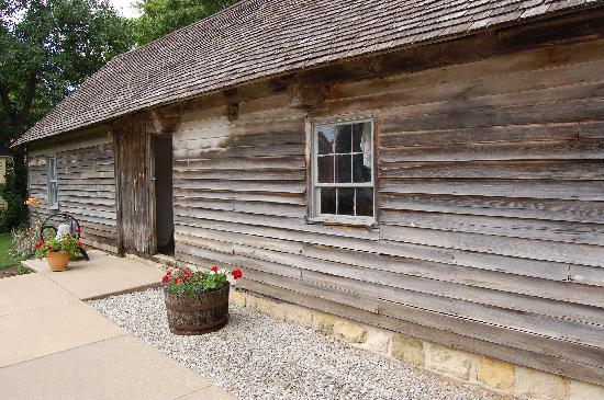 Bily Clocks Museum: The school house and living quarters