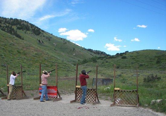 Jackson Hole Shooting Experience: Trap Shooting