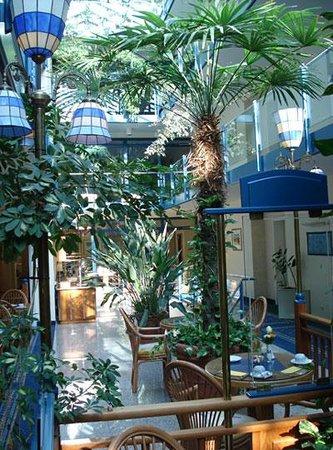 Timmendorfer Strand, Tyskland: Frühstücksraum im Hotel sehr gut