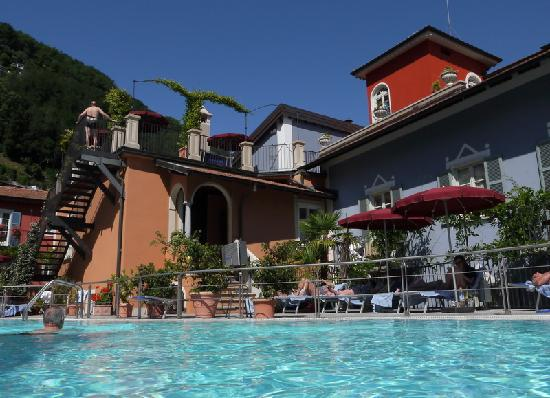 Hotel Cannero: der Pool