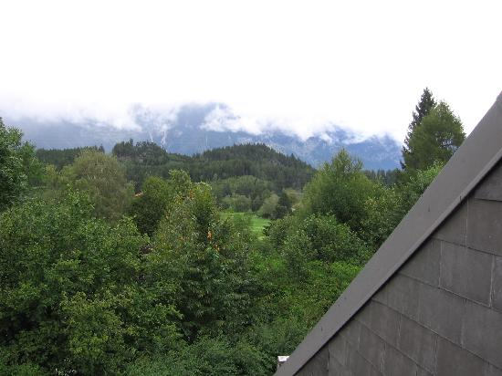 Hotel-Pension Leitgebhof : vista dalla camera