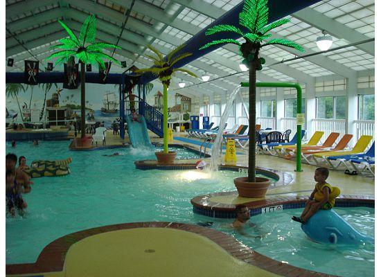 Francis Scott Key Family Resort: Indoor pool