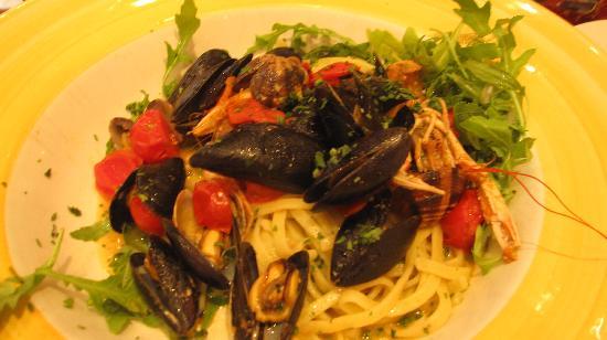 Pizza Ciro: Seafood Pasta
