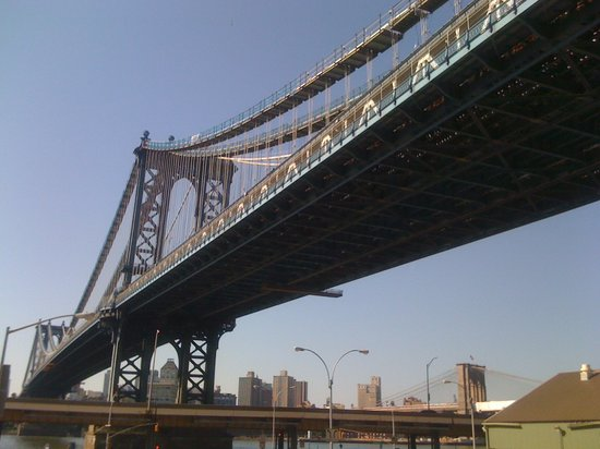 Manhattan Bridge : Ostwärts...