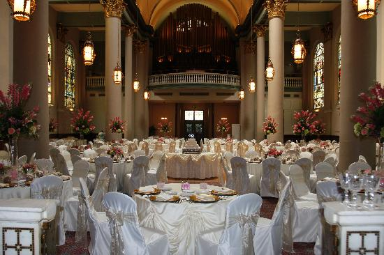 The Priory Hotel Grand Hall Ballroom