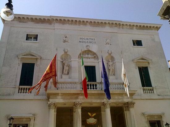 Teatro La Fenice: La Fenice from outside