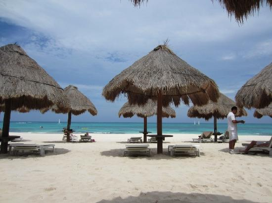 Iberostar Grand Hotel Paraiso: Beach view in front of Building 71