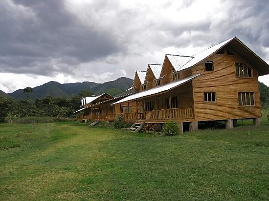 Oxapampa, Perú: los bungalows