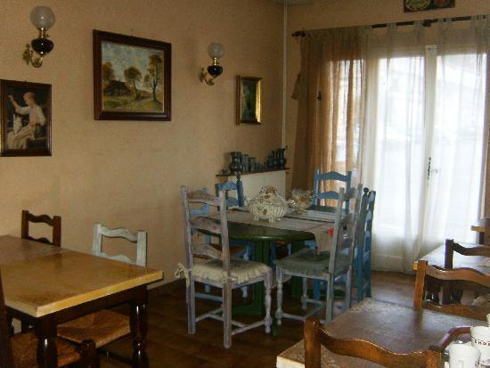 HOTEL DU PARC : Indoor eating area