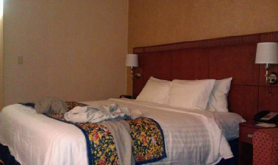 Fairfield Inn & Suites Boston North: King bed