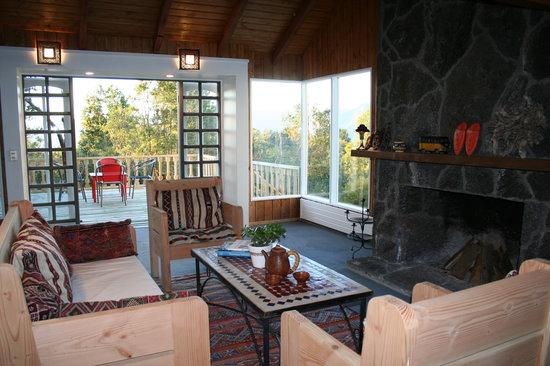 Bambu Lodge: Salon