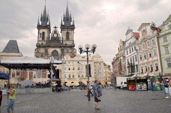 Praga, Republika Czeska: Old Town Square
