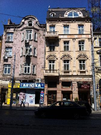 Hotel Maria Luisa : L'esterno dell'hotel