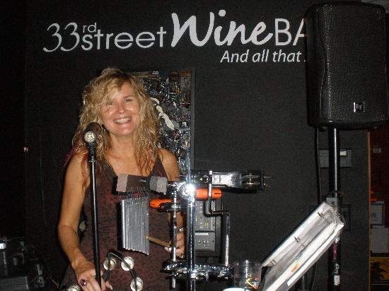 33rd Street Wine Bar: Stephonie Singing The Blues
