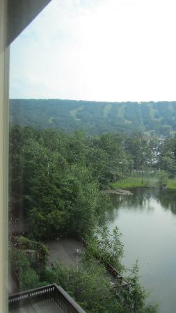 Chateau Resort & Conference Center: View from the room and the many decks they have.