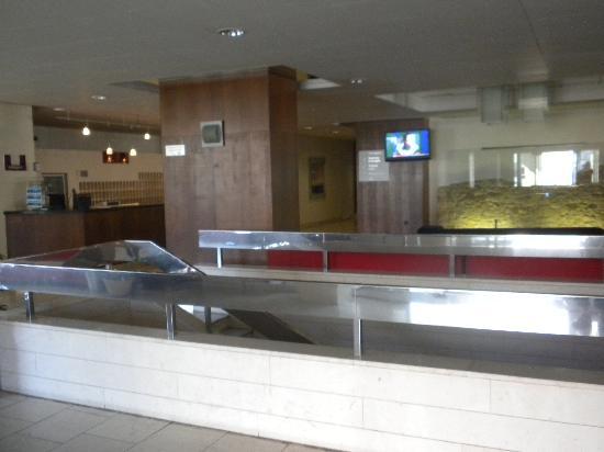 Hotel Grand Litava: The main lobby and reception