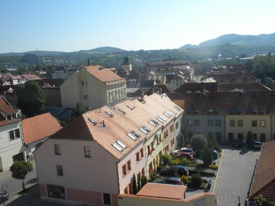 Hotel Grand Litava: The view of Beroun from our room