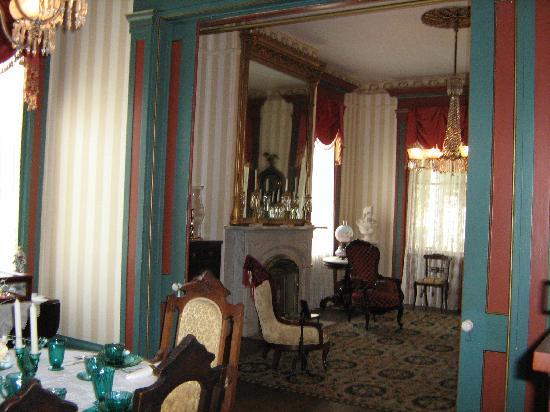 Zebulon Latimer House: Parlors