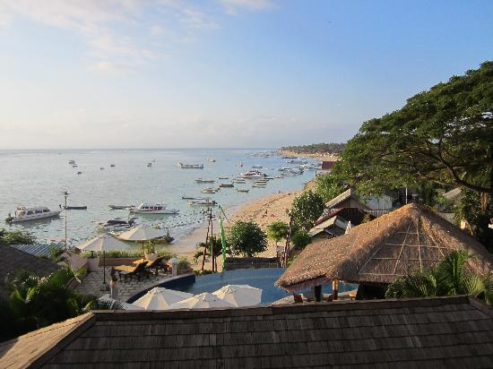 Lembongan Beach Villas Resort: view from our villa