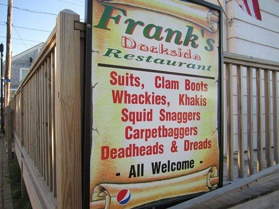 Frank's Dockside: Franks