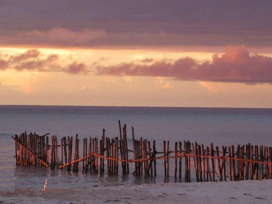 Isla Mujeres, Mexico: Beautiful sunset at Playa Norte