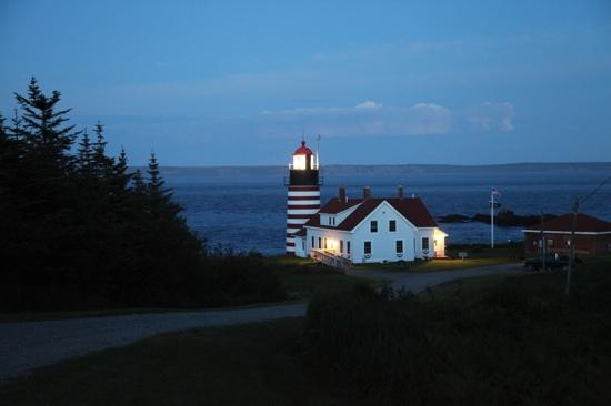 Lubec, ME: night view