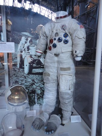 Chantilly, VA: NASA suit