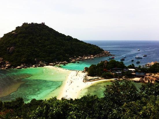 Koh Tao, Thailand: Nuang Yuan Island
