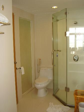 Tower Shower-Water Closet - Picture of Waika International Hotel ...