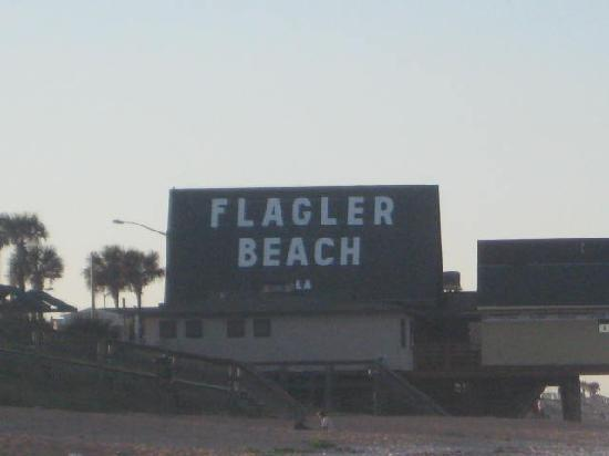 ‪توباز موتيل / هوتل: flagler beach pier‬