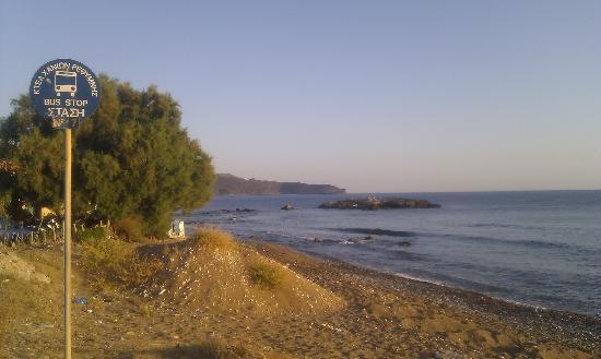 Sevach Apartments: The beach