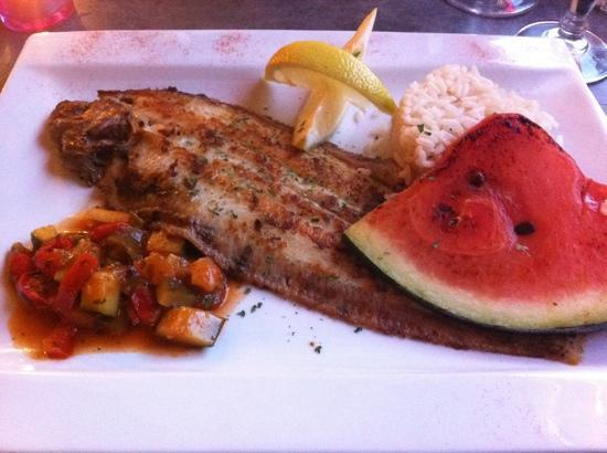 La Dorade: a perfectly cooked sole