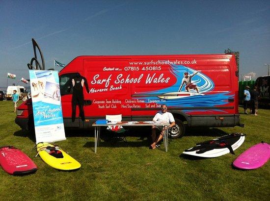 Surf School Wales takes part in the Aberavon Beach Festival 2011