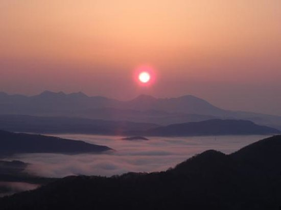 Minamifurano-cho, ญี่ปุ่น: 狩勝峠日の出_3