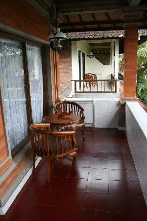 Ubud View Bungalows: chambre