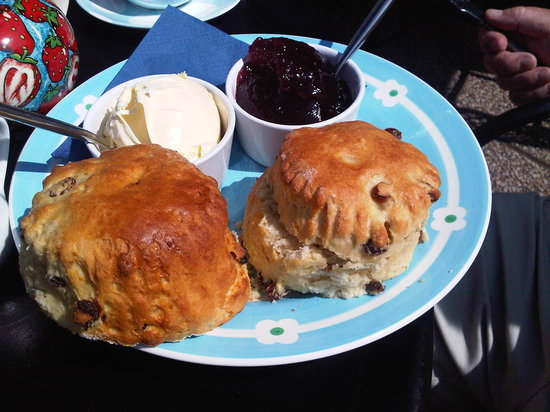 Westward Ho, UK: Scones