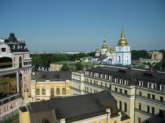 InterContinental Kiev : Photo from window of room 916