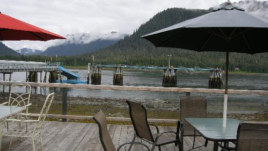 Waterfront Bed & Breakfast: View from decking