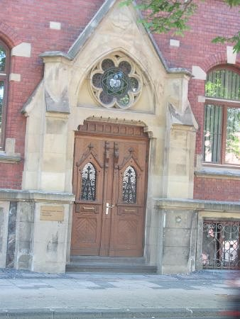 Diakoniekirche: entrance