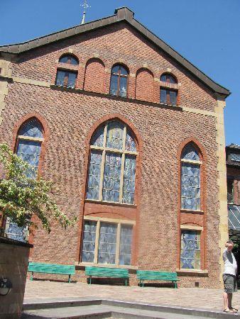 Diakoniekirche: entrance facade