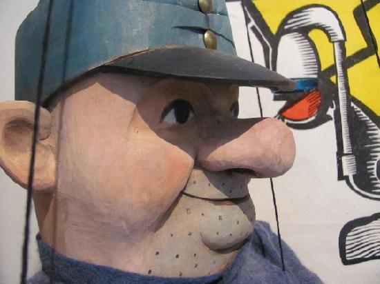 Puppeteer Museum: detail