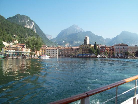 Centrale Hotel -- Riva Del Garda: from the lake.