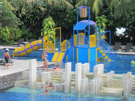 Hard Rock Hotel Bali Kids Playground In The Pool