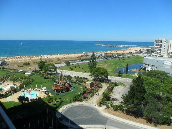 Crowne Plaza Vilamoura - Algarve: From 7th floor. Kids area below is fantastic!