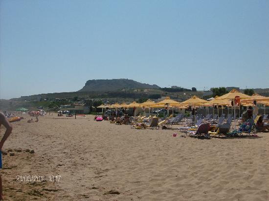 Karteros, กรีซ: spiaggia immensa
