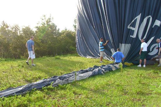 Orlando Balloon Rides: Deflating