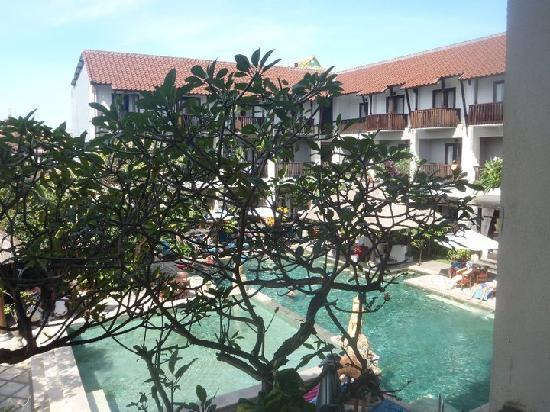 The Lokha Legian: view from room 219