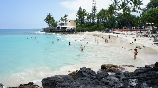 Kailua-Kona, HI: Beautiful Magic Sands, June 30 2011