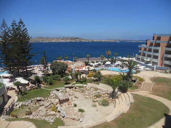 Dolmen Resort Hotel: Utsikt från rum 547