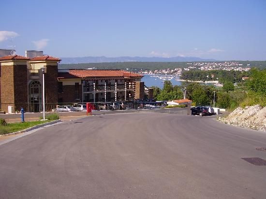 Malinska, Croatia: LLEGADA AL HOTEL